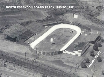 North Essendon Board Cycle Track
